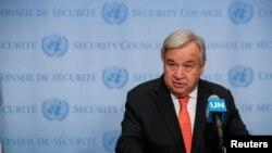 António Guterres attendu dans le Kivu pour encourager la lutte contre Ebola