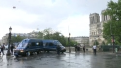 Police Security Operation Underway at Notre Dame