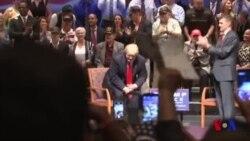 Tramp so'rovlarda Klintonga yetib olmoqda