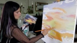 Artist With A Rare Vision Condition Sees The World Like Few Do