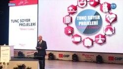 CHP'nin İzmir Adayı Tunç Soyer 'Birinci Cemre' Projelerini Tanıttı