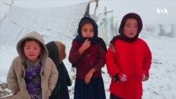 وضعیت بد بیجاشدگان داخلی در فصل زمستان