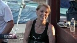86-godišnja akrobatkinja na trapezu
