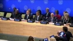 奥巴马呼吁共同打击伊斯兰国组织