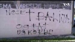 Gornji Vakuf: Fašistički simboli i poruke nacionalističke netrpeljivosti