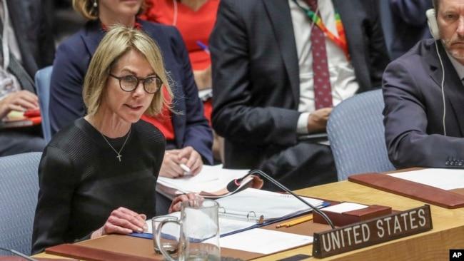 Ambasadorja amerikane në OKB, Kelly Craft