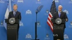 Vicepresidente Mike Pence en Argentina