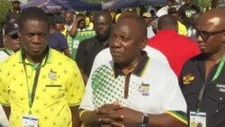 New ANC Leader Cyril Ramaphosa Humbled By Members' Support