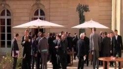 París: buscan solución a crisis en Ucrania