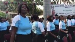 Malawians Living in Zimbabwe Singing, Dancing