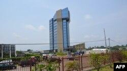 Le siège de la CEMAC à Libreville, au Gabon, le 12 juin 2013.