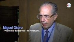 """Miguel Otero, presidente del diario """"El Nacional"""" de Venezuela, habla de la libertad de prensa en su país"""