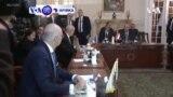 VOA60 AFIRKA: A Libya, ministocin harkokin wajen kasar Faransa sun nuna adawarsu da matakin da Turkiyya ta dauka