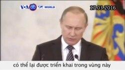 Nga sẽ tiếp tục hỗ trợ chính phủ Syria (VOA60)