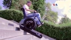 Silla de ruedas que sube escaleras