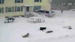 Силно снежно невреме во североисточниот дел на САД