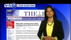 VOA 60 US Election 30th Oct