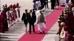 صدر ٹرمپ کی بھارت میں مصروفیات