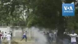 Echauffourées entre manifestants et policiers à Kinshasa