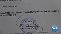 Fornecedores de serviços cobram cem milhões de kwanzas de dívidas da CNE de Angola