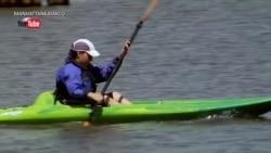 疫情限制下皮划艇成为纽约人的运动新宠