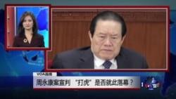 "VOA连线:周永康案宣判,""打虎""是否就此落幕?"