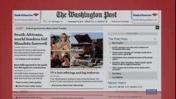 美国五大报头条新闻(2013年12月10日)