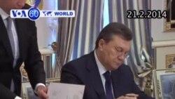 TT Ukraina và phe đối lập đạt thỏa thuận chấm dứt khủng hoảng (VOA60)