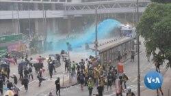 英语视频:香港已成新闻记者的冲突地带