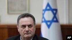 اسرائیل کاتز، وزیر امور خارجه و وزیر اطلاعات اسرائیل