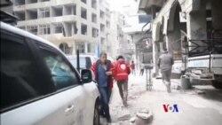 2018-04-02 美國之音視頻新聞: 俄羅斯稱已達協議讓敘利亞反叛力量撤離東古塔