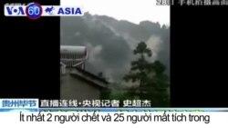 Lở đất ở Trung Quốc, ít nhất 2 người chết