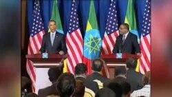 باراک اوباما پس از ترک کنیا وارد اتیوپی شد