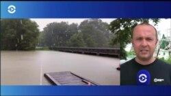 Тропический шторм «Барри» ослаб до тропической депрессии