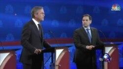 共和党竞选辩论谈经济 候选人互相攻击