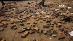 """""""三罷""""示威者於旺角街頭佈滿雜物阻擋警察推進"""