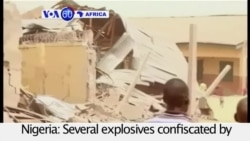 VOA60 Africa - Explosion at Police HQ in Northeast Nigeria Kills 4
