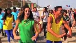 Olimpiya Oyunlarını izləməyə gələn ziyarətçilər Rionun mədəniyyətini kəşf edir