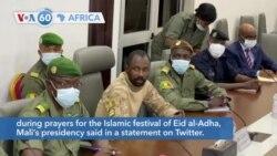 VOA60 Africa - Mali: Interim President Goita unharmed after an attempted stabbing