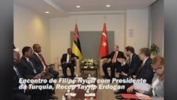 Presidente de Moçambique, Filipe Nyusi, manteve vários encontros com Chefes de Estado e foi homenageado