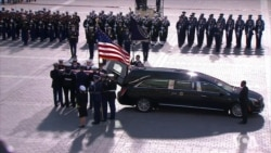 US Honors Former US President George H.W. Bush in Washington