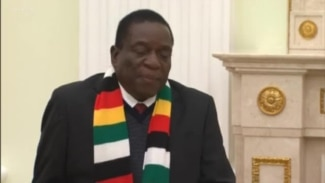 Zimbabwe President Seeks Guidance from Russian Counterpart to Develop Zimbabwe
