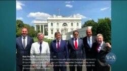 До Вашингтона готувати візит президента України прибув секретар РНБО Олександр Данилюк. Відео