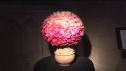 برپایی بازار گل در کلیسای ملی واشنگتن