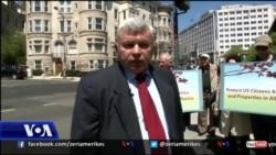 Uashington: shqiptaro-amerkanët protestojnë për ligjin e pronave