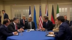 POROSHENKO NATO LEADERS