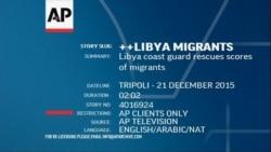 Rescued African Migrants Stranded at Tripoli Harbor, Tripoli, Libya