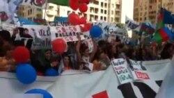 """Mitinq iştirakçıları """"İlham çıx get deyir"""" - 22 sentyabr"""