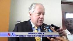 Vizit Prezidan Chanm Komès la, Willem Lhem K., nan Nòdès