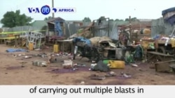 VOA60 Africa -Suicide Bombers Kill 18 in Nigeria - October 5, 2015